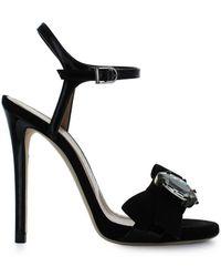 Marc Ellis - Women's Black Leather Sandals - Lyst