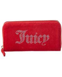 Juicy Couture - Zip Around Wallet - Lyst