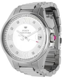 Juicy Couture - Watch Jetsetter Silver 1901025 - Lyst