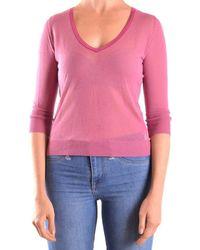 Peuterey - Women's Pink Viscose Jumper - Lyst