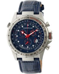 Morphic - M36 Chronograph Leather-band Watch - Lyst