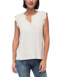 Bobeau - Stacey Washed Top - Lyst