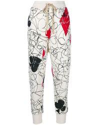 Vivienne Westwood | Women's White Cotton Joggers | Lyst