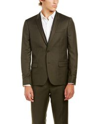 The Kooples - Military Twill Fitted Wool Sportcoat - Lyst