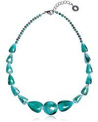 Antica Murrina - Women's Light Blue Steel Necklace - Lyst
