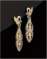 Konstantino - Eros 18k & Silver Earrings - Lyst