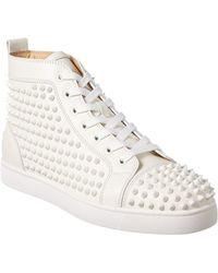 Christian Louboutin - Yang Lois Leather Sneaker - Lyst