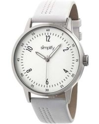 Simplify - Unisex The 5700 Leather Band Watch - Lyst