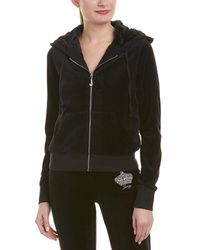 Juicy Couture - Robertson Velour Track Jacket - Lyst