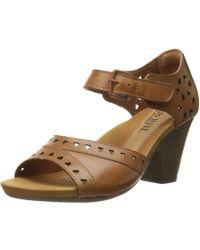 Cobb Hill - Rockport Women's Trista-ch Heeled Sandal - Lyst