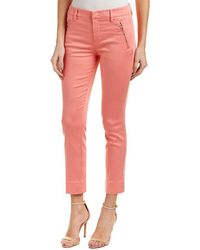 Level 99 - Lacey Coral Trouser - Lyst