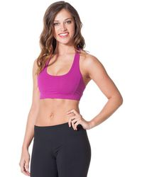 Hard Tail | Racer Back Sporty Bra | Lyst