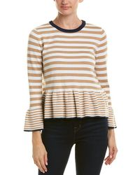 English Factory - Bell-sleeve Sweater - Lyst