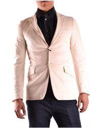 CoSTUME NATIONAL - Men's Mcbi074003o Beige Polyester Blazer - Lyst