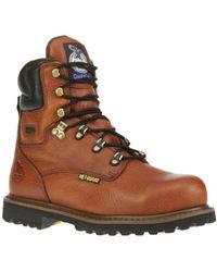 "Georgia Boot - Men's G83 8"" Steel Toe Metatarsal Comfort Core Welt - Lyst"
