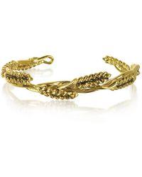 Aurelie Bidermann - Women's Gold Steel Bracelet - Lyst