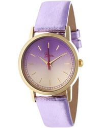 Boum - Ombre Color-fade Leather-band Ladies Watch - Lyst