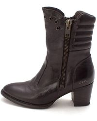 Bed Stu - Womens Onrush Almond Toe Ankle Fashion Boots - Lyst