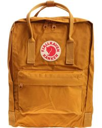 Fjällräven Kånken - Men's Yellow Polyurethane Backpack - Lyst