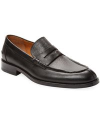 Gordon Rush - Leather Penny Loafer - Lyst