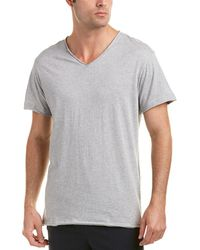 Bread & Boxers - Mens Relaxed Fit V-neck T-shirt, M - Lyst