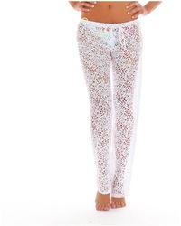 Banana Moon - Seethrough Maelys White Pants - Lyst