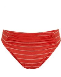 Fantasie - Red Knickers Swimsuit Bottom Ravello - Lyst