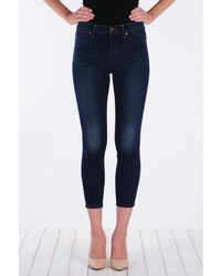 Henry & Belle   High Waisted Cropped Skinny Jean   Lyst