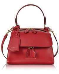 Victoria Beckham - Women's Red Leather Handbag - Lyst