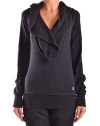 Frankie Morello - Women's Black Wool Sweater - Lyst