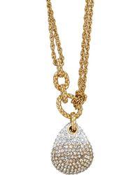 Swarovski - Crystal Definite Plated Necklace - Lyst