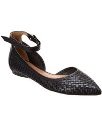 French Sole - Poe Leather Flat - Lyst