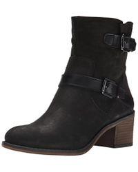 Franco Sarto - Womens Larisa Leather Almond Toe Ankle Fashion Boots - Lyst
