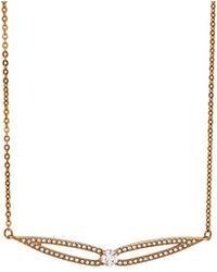 Swarovski - Crystal Creativity Plated Necklace - Lyst