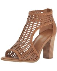 Report - Women's Ryan Heeled Sandal - Lyst