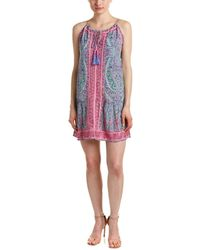 Calypso St. Barth - St. Barth Katuri Silk-blend Shift Dress - Lyst