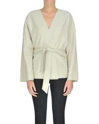 Barena - Women's Mcglcsg04021i Beige Wool Jacket - Lyst