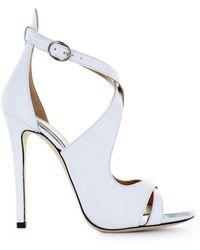 Marc Ellis - Women's White Leather Sandals - Lyst