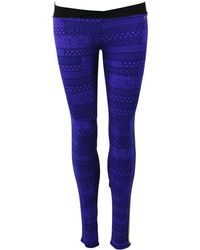 Banana Moon - Blue Sport Leggings Landfit Sunrun - Lyst