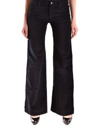 See By Chloé - Women's Black Cotton Jeans - Lyst