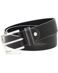 Antony Morato - Men's Black Leather Belt - Lyst