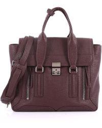3.1 Phillip Lim - Pashli Satchel Leather Medium - Lyst