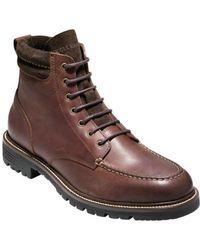 """Cole Haan - Men's Grantland 6"""" Waterproof Lace Up Boot - Lyst"""