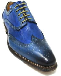Jose Real - S-r2318 Oxford Veloce Pavone Blue Vip Cobalt - Lyst