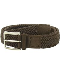 Paolo Vitale - Men's Brown Fabric Belt - Lyst