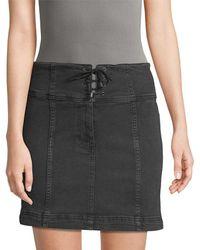 Free People - Modern Femme Corset Skirt - Lyst