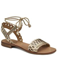 Jack Rogers - Ruby Leather Sandal - Lyst