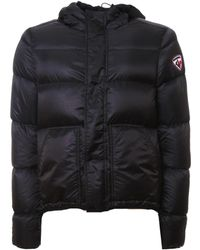 Rossignol - Men's Black Polyamide Down Jacket - Lyst