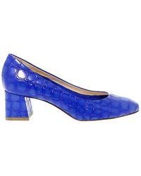 Fabi - Women's Blue Leather Pumps - Lyst