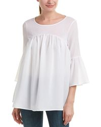 French Connection - Polly Plains Top - Lyst